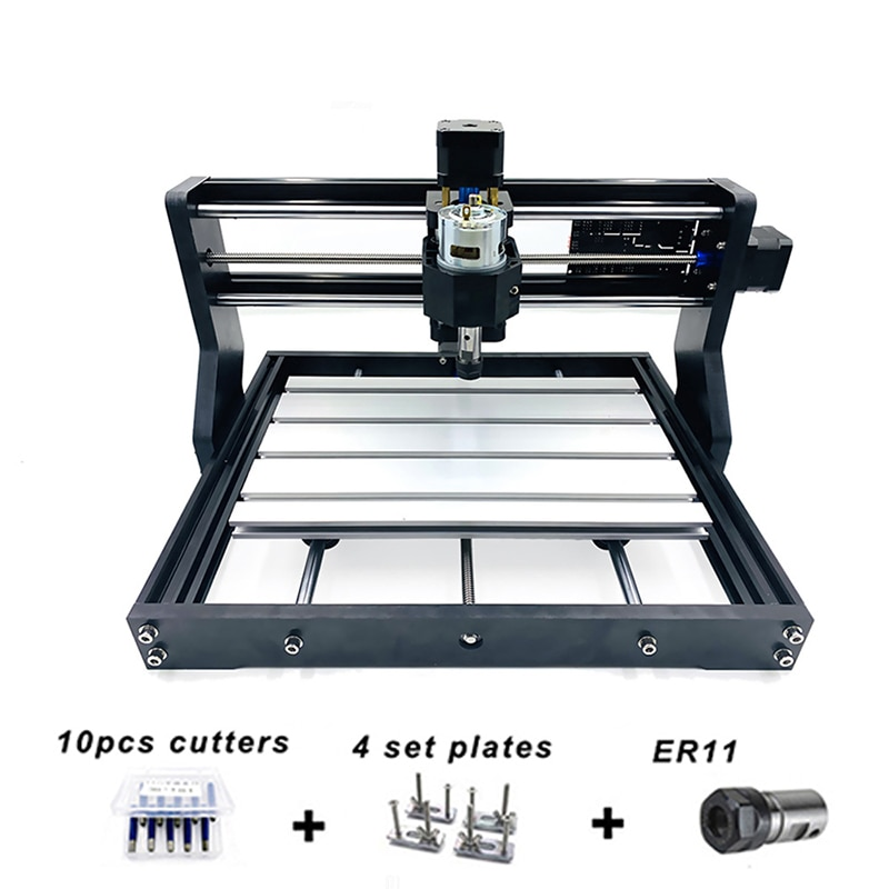 1500w wood router 4 axis cnc 8060 pcb milling machine cnc engraver with cutter bit CNC Router 3018 Pro Laser Engraver Wood DIY GRBL Control 3 Axis With Offline ,Pcb Milling Machine,Wood Router,Craved On Metal