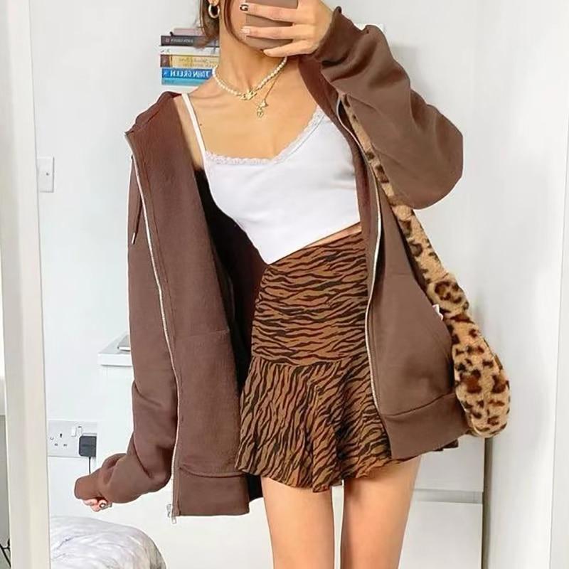 Oversize Girls Thick Hoodies 2021 Spring Fashion Ladies Streetwear Fleece Outfits Y2K Boyfriend Loose Hoodies Unisex Women Chic