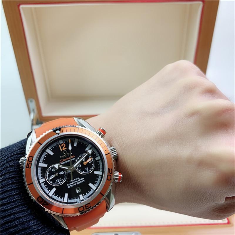 Seamaster 600 fully automatic mechanical watch multifunctional men's watch waterproof luminous watch
