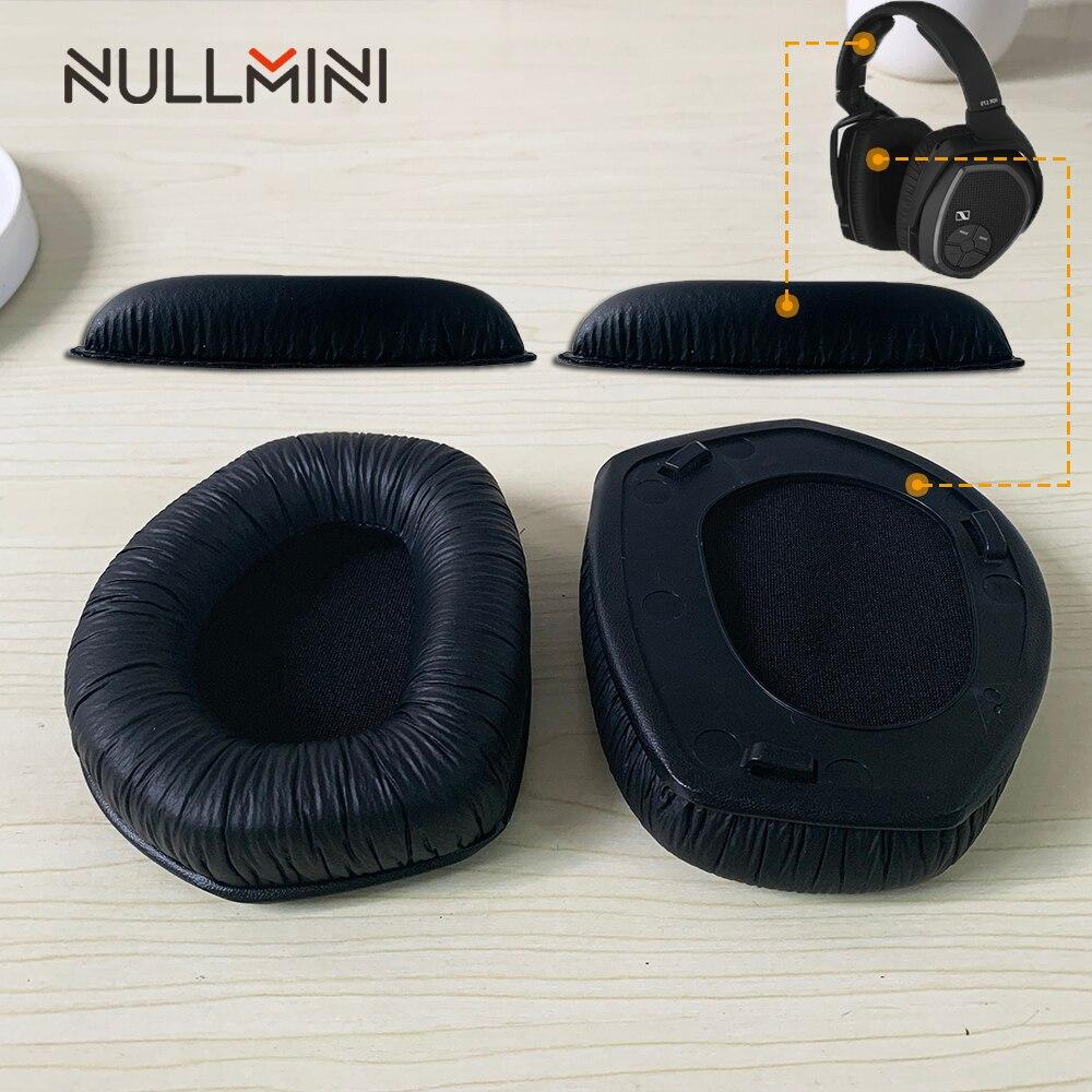 NullMini Replacement With Plastic Hooks Earpads for Sennheiser RS175 Headphones Sleeve Earphone Earmuff Headset