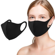 3pc 3 Layer Health Cycling Anti-dust Cotton Mouth Face Mask Respirator Men Women Mascarillas Hallowe