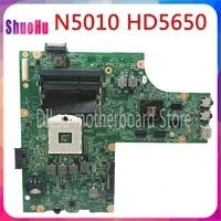 KEFU 09909-1 Fur DELL Inspiron N5010 Motherboard DDR3 HM76 Intel CN-0VX53T CN-052F31 09909-1 48 4 HH 01 011 HM57 GPU Original-Test