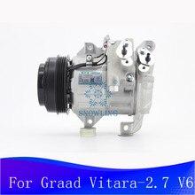 Für Suzuki Vitara Graad-2,7 V6 2005-2006 SUV DCS14IC klimaanlage kompressor, OEM 95200-64JC0