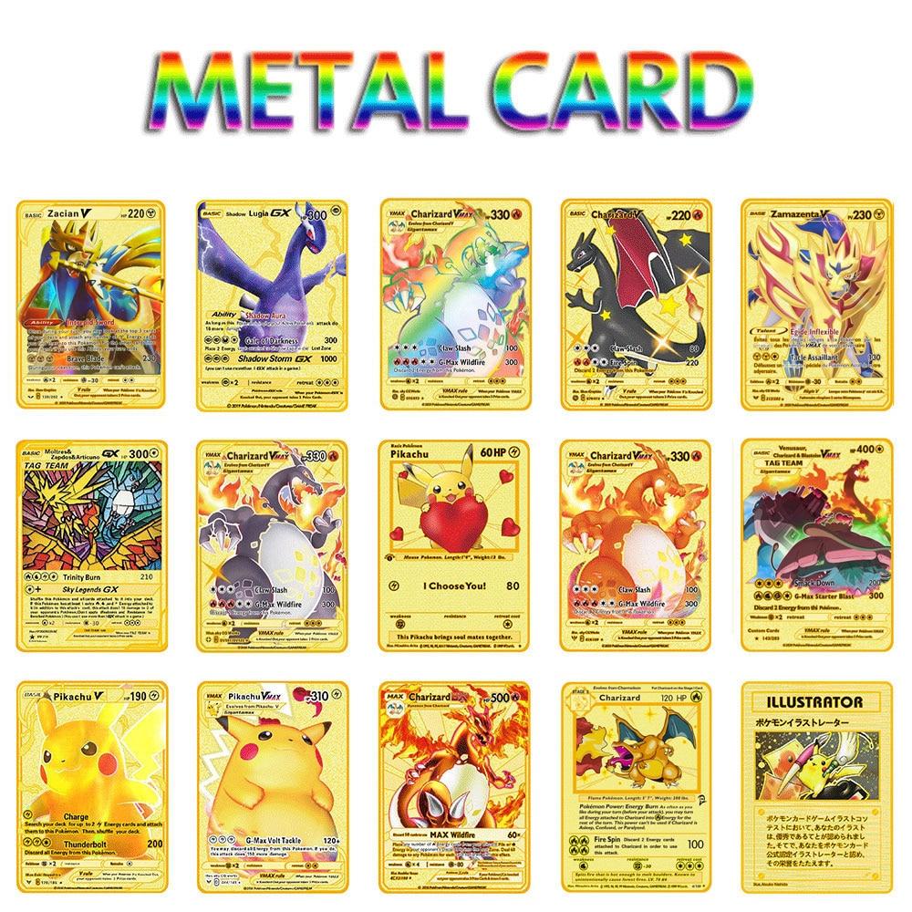 tarjetas-de-pokemon-de-metal-para-ninos-pikachu-charizard-golden-edicion-limitada-tarjetas-de-juego-de-coleccion
