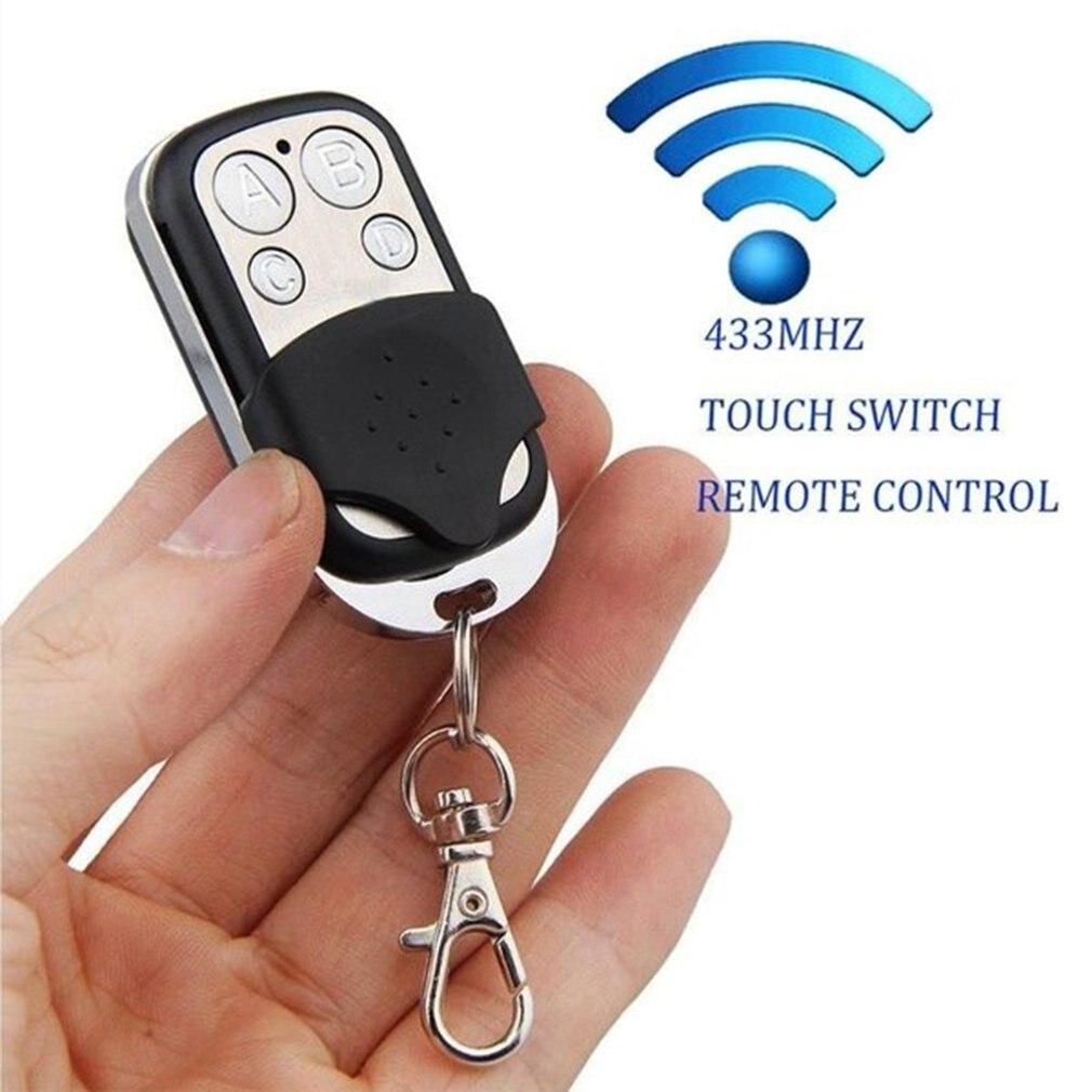 1pc door 1pc For 433mhz Remote Control Key garage door copy controller Electric Universal Gate Garage Door Remote Control