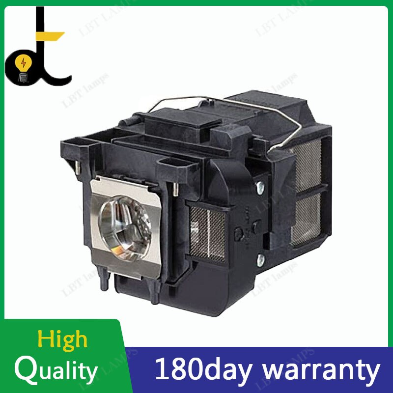 high brightness projector bulb for elplp57 for epson eb 450w eb 440w eb t450wi eb 460 h318a h343a 180 days warranty A+ Wick Projector Lamp for ELPLP77 for EPSON PowerLite 4650 4750W 4855WU G5910 EB-4550 EB-4750W EB-4850WU 180 days warranty