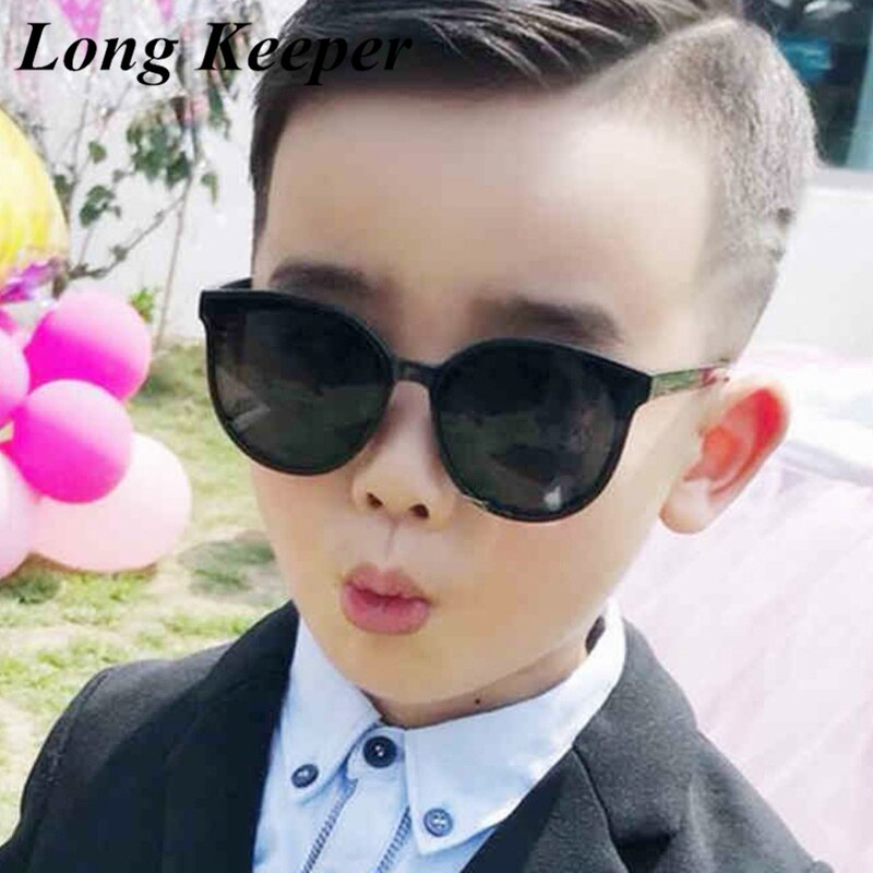 Brand Unisx Kids Cat Eye Sunglasses Girls Boys Baby Children Toddler Round Sun Glasses Vintage oculo
