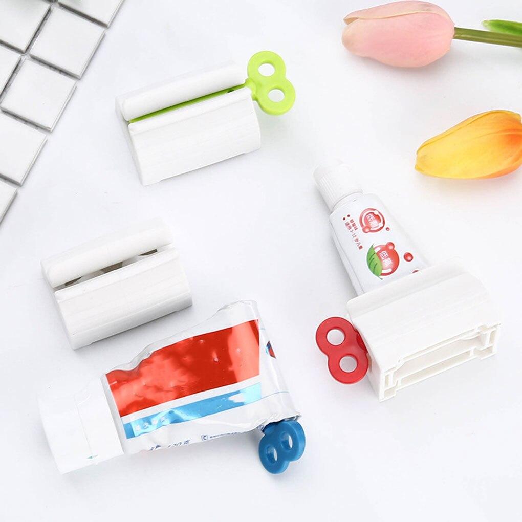 Новинка, устройство для очистки лица, зубная паста, приспособление для выдавливания зубной пасты, бытовое устройство для зубной пасты, выда... зубной гель экопром cliny к104 75мл