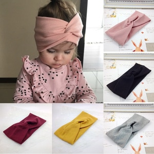 Cross Cotton Headband For Women And Girl Children Adult Family Hairband Sports Yoga Elastic Hairwear Hot Selling