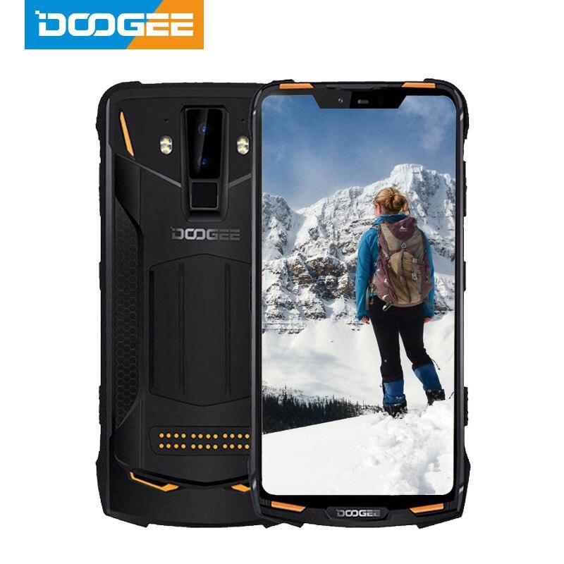 Перейти на Алиэкспресс и купить Смартфон DOOGEE S90 Pro, IP68, упрочненный, 6,18 дюйма, 12 В, 2 А, 5050 мА · ч, Helio P70, 8 ядер, 6 + 128 ГБ, 16 + 8 Мп, Android 9