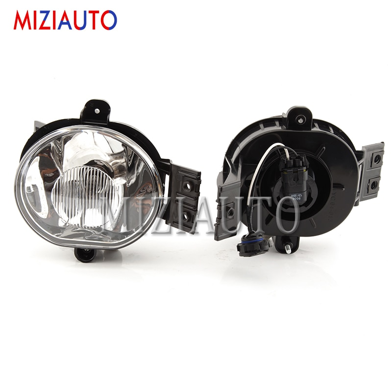 2pcs Clear Lens Bumper Driving Fog Light For Dodge Ram 1500 2500 3500 for Durango 2002 2003 2004 2005 2006 2007 2008