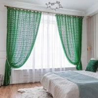 handmade window curtains with tassel lace tulle curtains cotton fabric for living room bedroom luxury hollow flower curtains