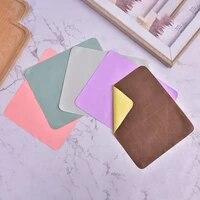 1pcs suede eyeglasses cleaning cloth for lens phone screen bracelet jewelry cleaning random colors 6 7in 5 75in