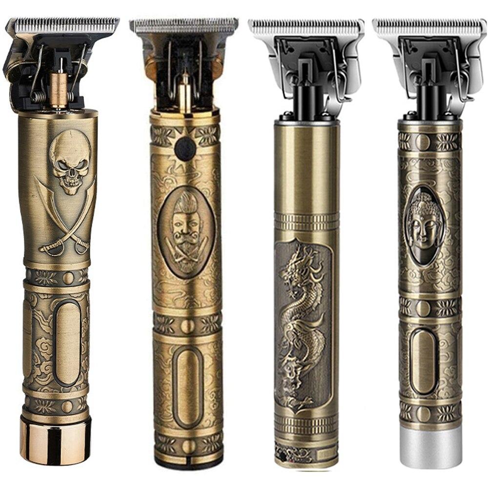 Hair Clipper Dragon Rechargeable Shaver Beard Trimmer Professional Men Hair Cutting Machine Beard Barber Hair Trimmer