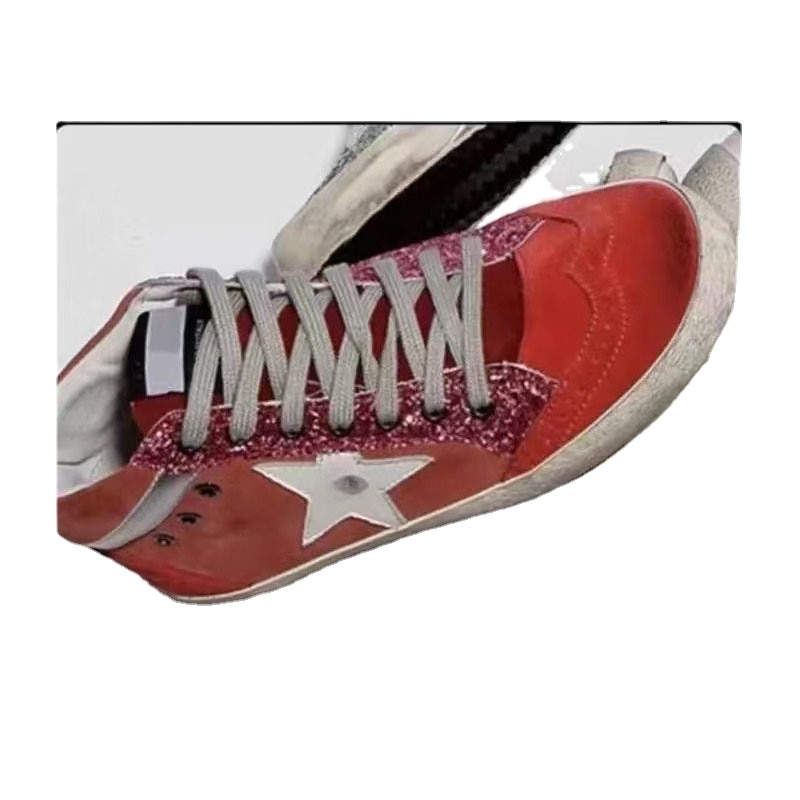 Autumn/winter New Product Children's Shoes Head Layer Cowhide Non-slip Red Fashion High-top  Parent-child Sports Shoes QZ118 enlarge