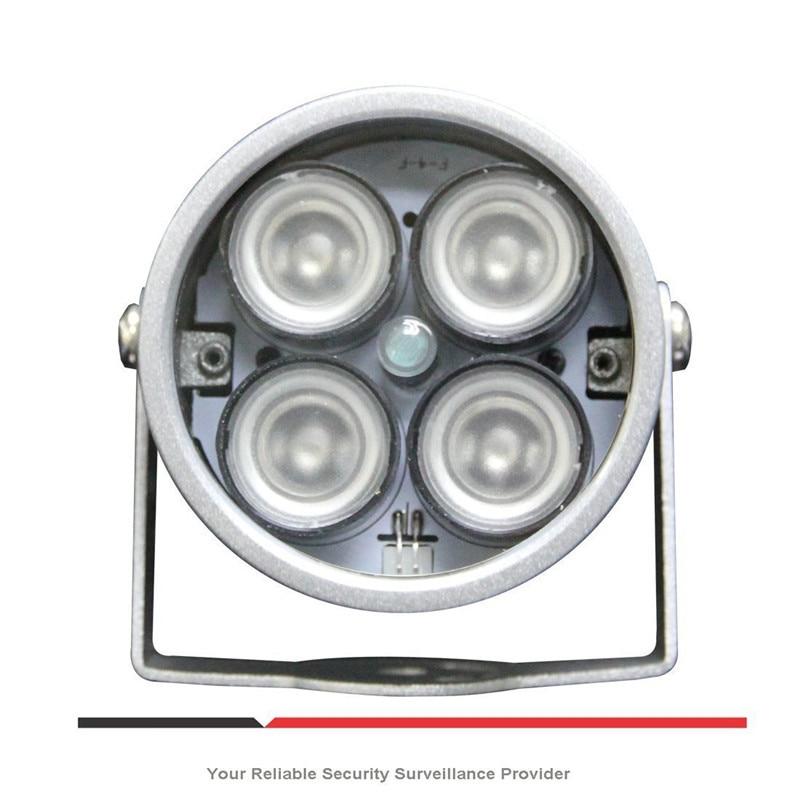 CCTV LEDS 4 gama IR Led iluminador luz IR lámpara infrarroja impermeable visión nocturna CCTV Luz de relleno para cámara CCTV cámara Ip
