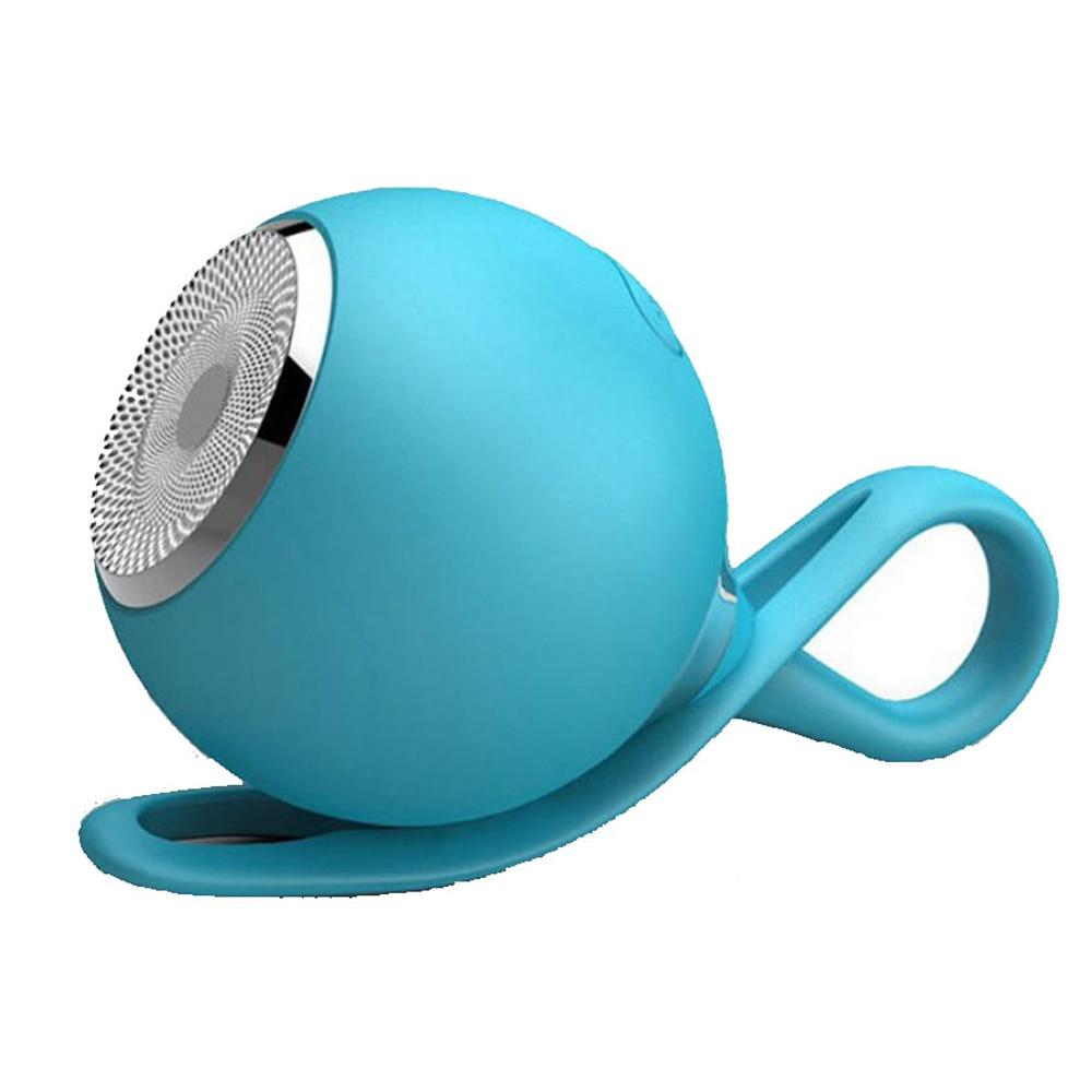 Colgante de bola portátil Altavoz Bluetooth impermeable efecto de Bajo estéreo tarjeta TF entrada de Audio de música para baño ducha Camping senderismo.
