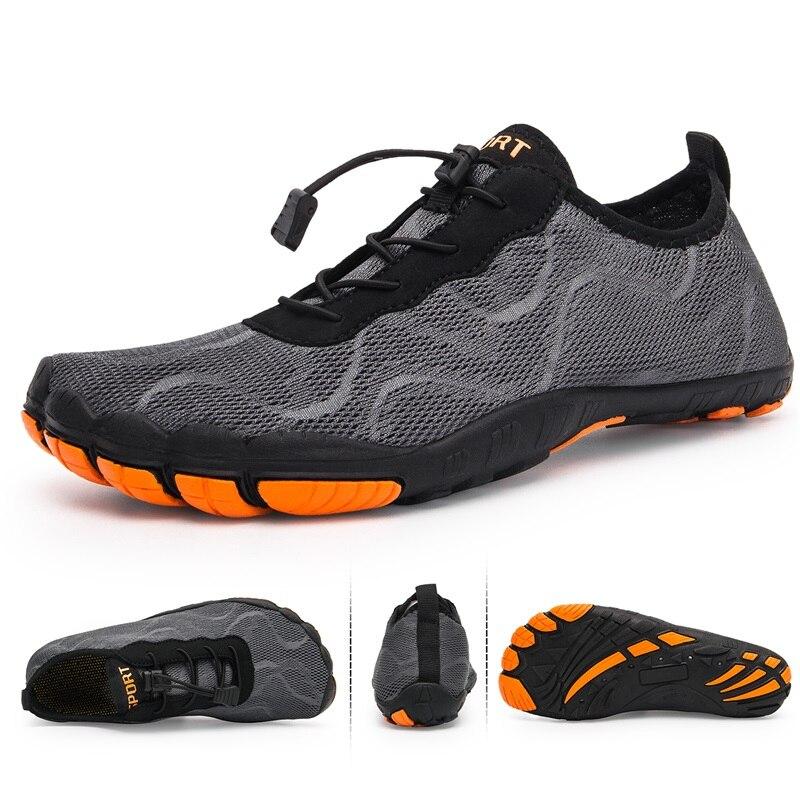 Zapatos de agua de secado rápido para hombre, zapatos de playa transpirables, zapatos de buceo para natación, zapatos ligeros suaves para senderismo, zapatos deportivos para el mar