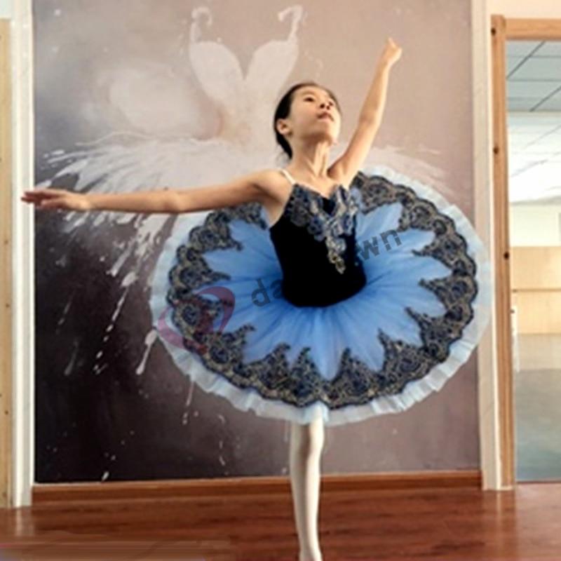 Professional Ballet Tutu Child Kids Girls Adults Pancake Tutu Dance Giselle Paquita Ballet Costume Ballerina Ballet Dress Girls недорого