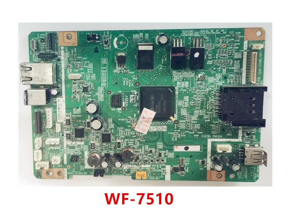 لوحة تنسيق اللوحة الرئيسية لطابعة Epson 7018 7110 7510 7511WF-7520 7521 7621 7620 7610 7710 شحن سريع