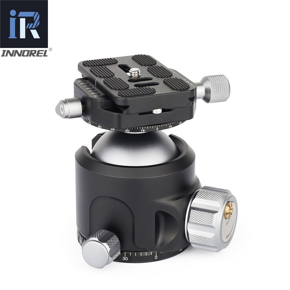 INNOREL M52 M44 M36 Low Center of Gravity Tripod Head New damping setting for Heavy Duty Digital SLR Cameras Panoramic Ball Head enlarge