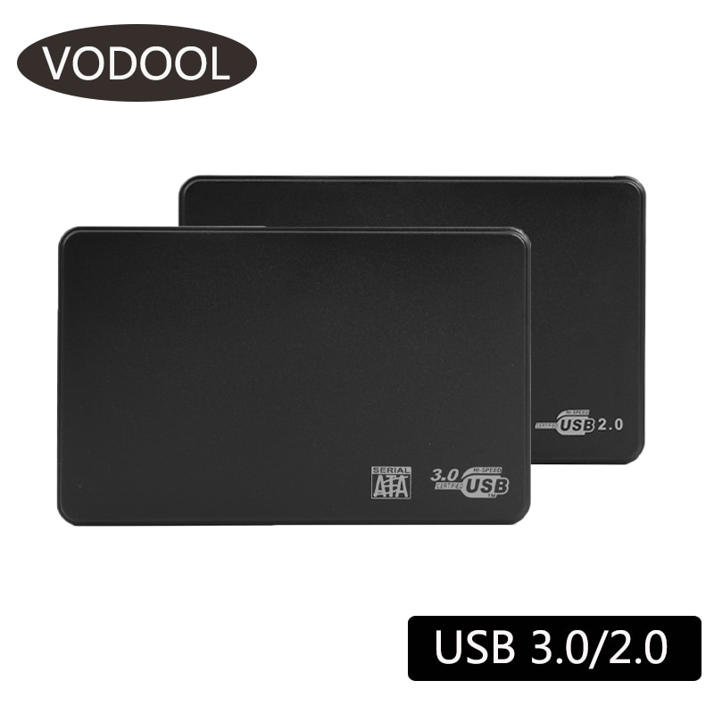 2.5 inch HDD SSD Case Sata to USB 3.0 2.0 Adapter Free 5 Gbps Box Hard Drive Enclosure Support 6TB HDD Disk For WIndows Mac OS