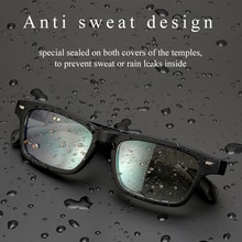 2021 Newest BT5.0 Wireless Non bone conduction Bluetooth audio BT smart glasses driving sunglasses e