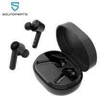 SOUNDPEATS Q Wireless Earbuds Bluetooth 5.0 in-Ear Wireless Charging Earphones with 4-Mic 10mm Drive