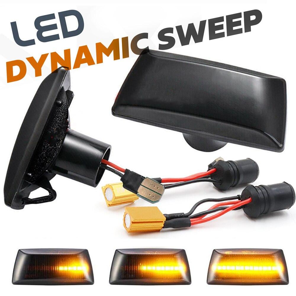 Indicador de luz LED lateral para el coche, repetidor de luz de giro para Daewoo Lacetti, Premiere, Buick, Cascada, Cadillac BLS, CTS, Saturn, Aura