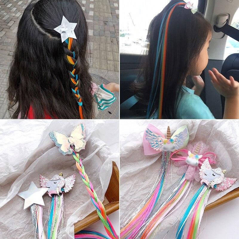 Horquillas de estrella de mariposa Para niña y niño, pinza de pelo...