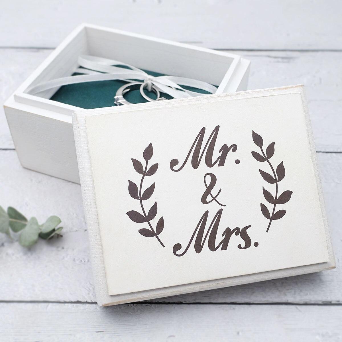 Индивидуальная коробка для обручальных колец, коробка для обручальных колец на заказ, коробка для обручальных колец с гравировкой, свадебн...