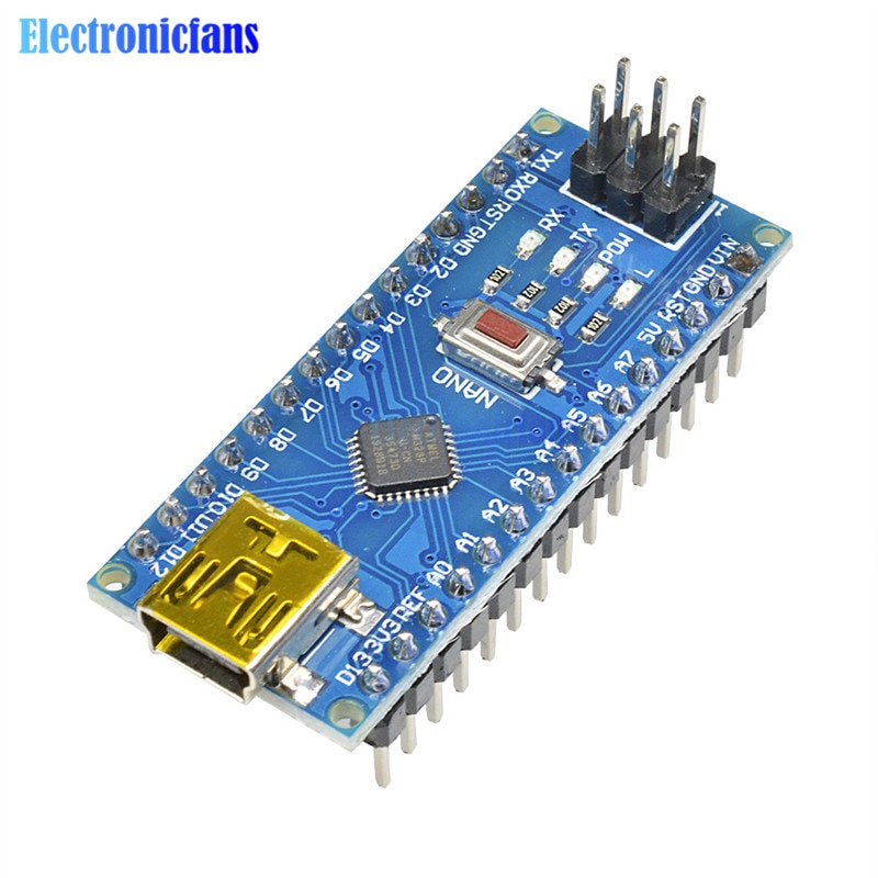 Плата микроконтроллера MINI USB NANO V3.0 CH340 C
