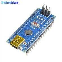 MINI USB NANO V3.0 CH340 CH340G 5V 16M Atmega328 ATmega328P Micro Controller Board für Arduino Nano 3,0 MEGA328 pro Mini Modul