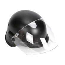 Airsoft M88 PASGT Kelver Swat casque tactique avec visière claire hommes cyclisme Sports de plein air Skate chasse casque Casco Ciclismo