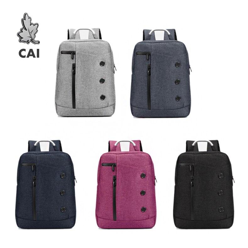 CAI mode imperméable à leau école sac à dos sac de voyage daffaires 14