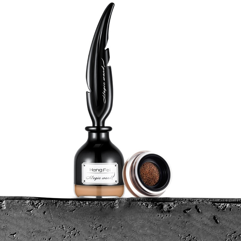Cejas crema Gel ojos maquillaje 4 colores cojín de aire lápiz resistente al agua de larga duración con brochas de maquillaje cepillo de Gel TSLM1