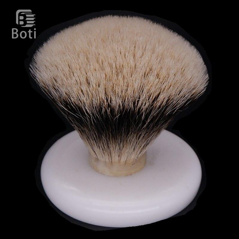 Boti Brush-brocha de afeitar para hombres SHD Captain Finest, brocha de tres bandas para el pelo, nudo, abanico, herramienta para dar forma a la barba, Kit de cuidado diario de la barba