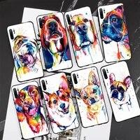 french bulldog dog pug phone case for xiaomi mi5 mi5x mi6 mi6x mia2 mi8 mi9 mi10 note2 note3 note10 pro max plus 10 lite cover