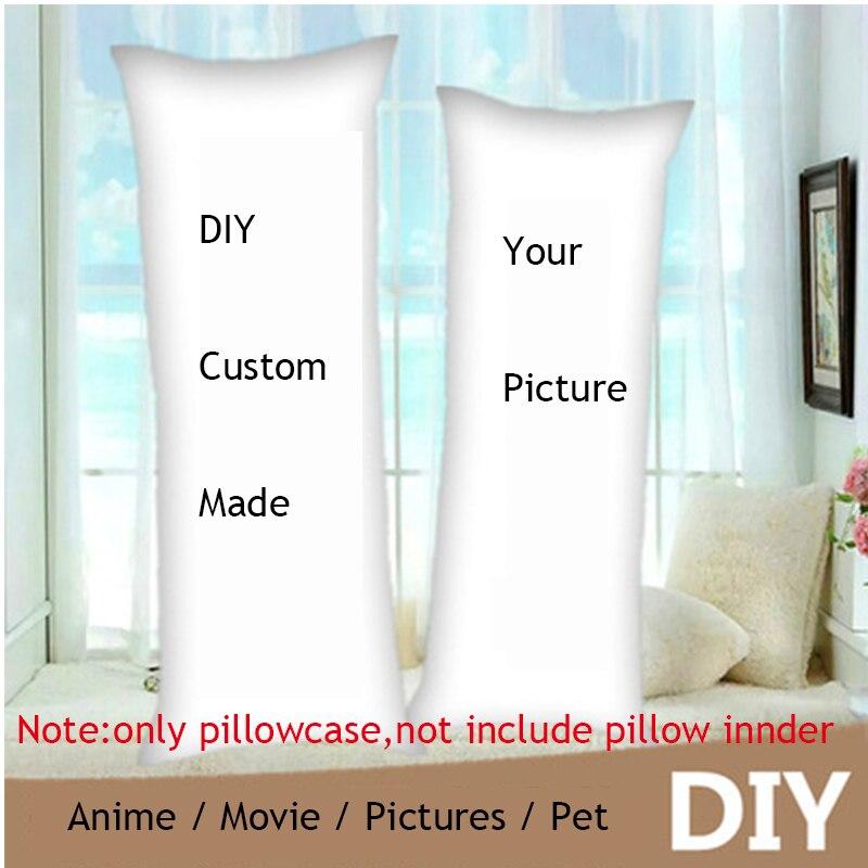 Сделай сам, изготовленный на заказ, аниме дакимакура, обнимающая подушка для тела, чехол «сделай сам», наволочка для подушки с принтом, украш...