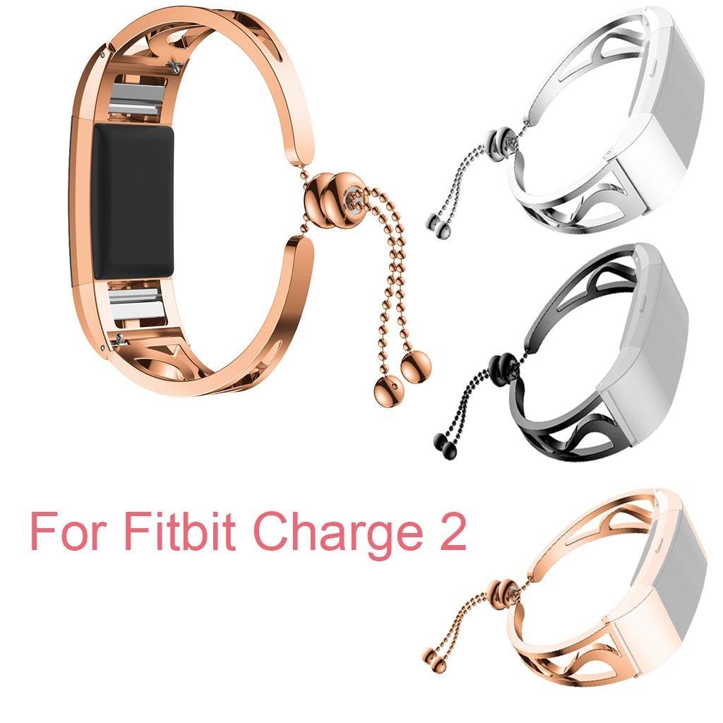 HIPERDEAL Luxurious Fashion Bracelet Replacement Girls WatchBand Wirstband Strap For Fitbit Charge 2