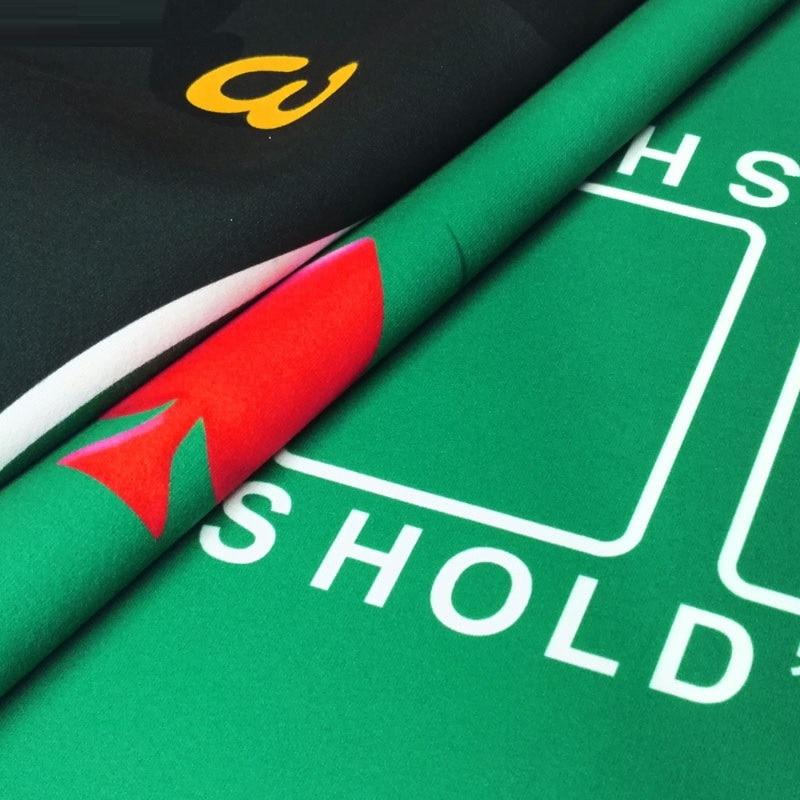 Техасская покерная скатерть, набор для покера в казино, коврик для настольных игр, Настольный коврик для домашних игр, аксессуары для покера-5