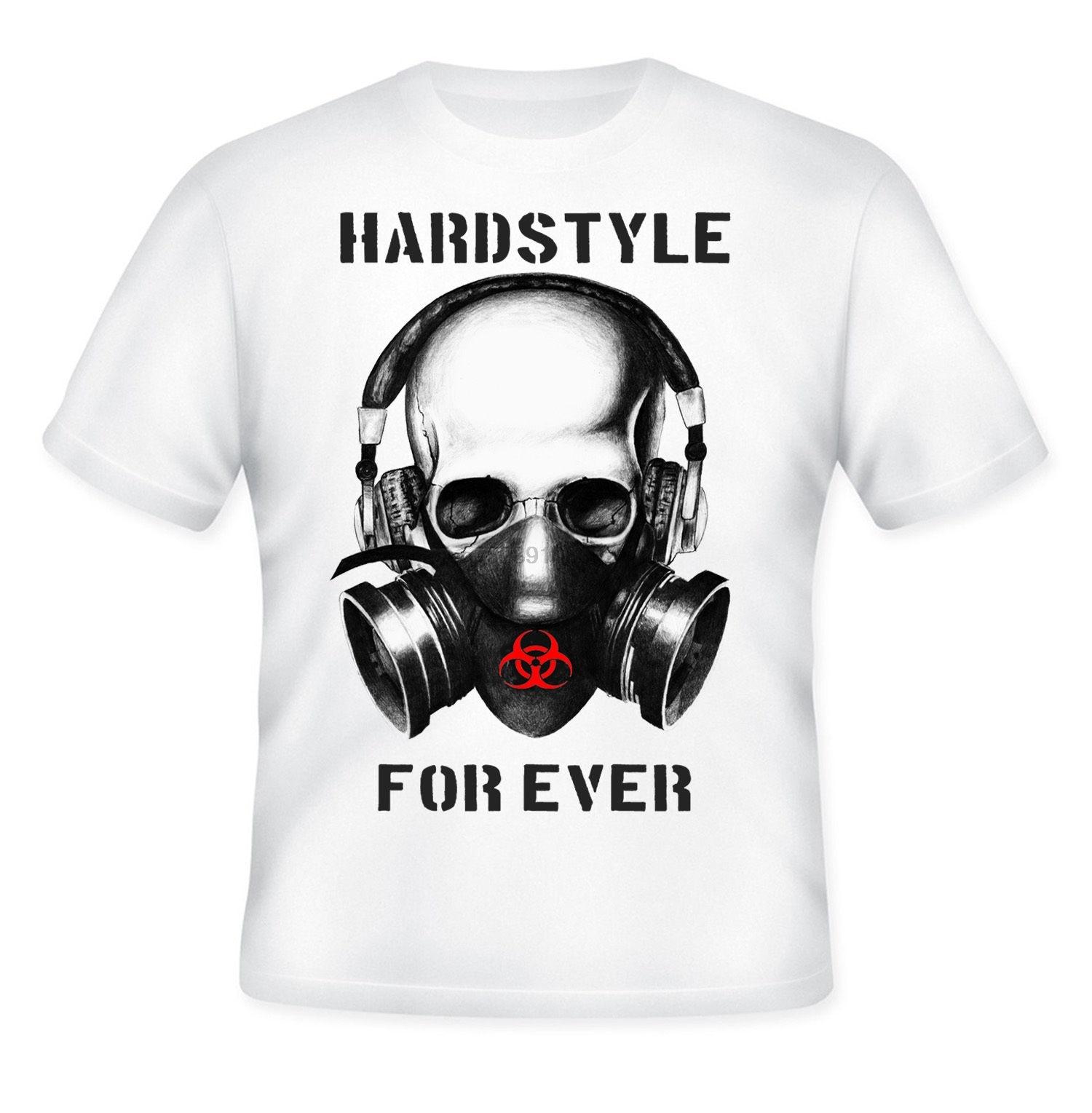 2019 nueva camiseta Cool HARDSTYLE para siempre-Nueva camiseta increíble con cita gráfica-S-M-L-XL-XXL (2)