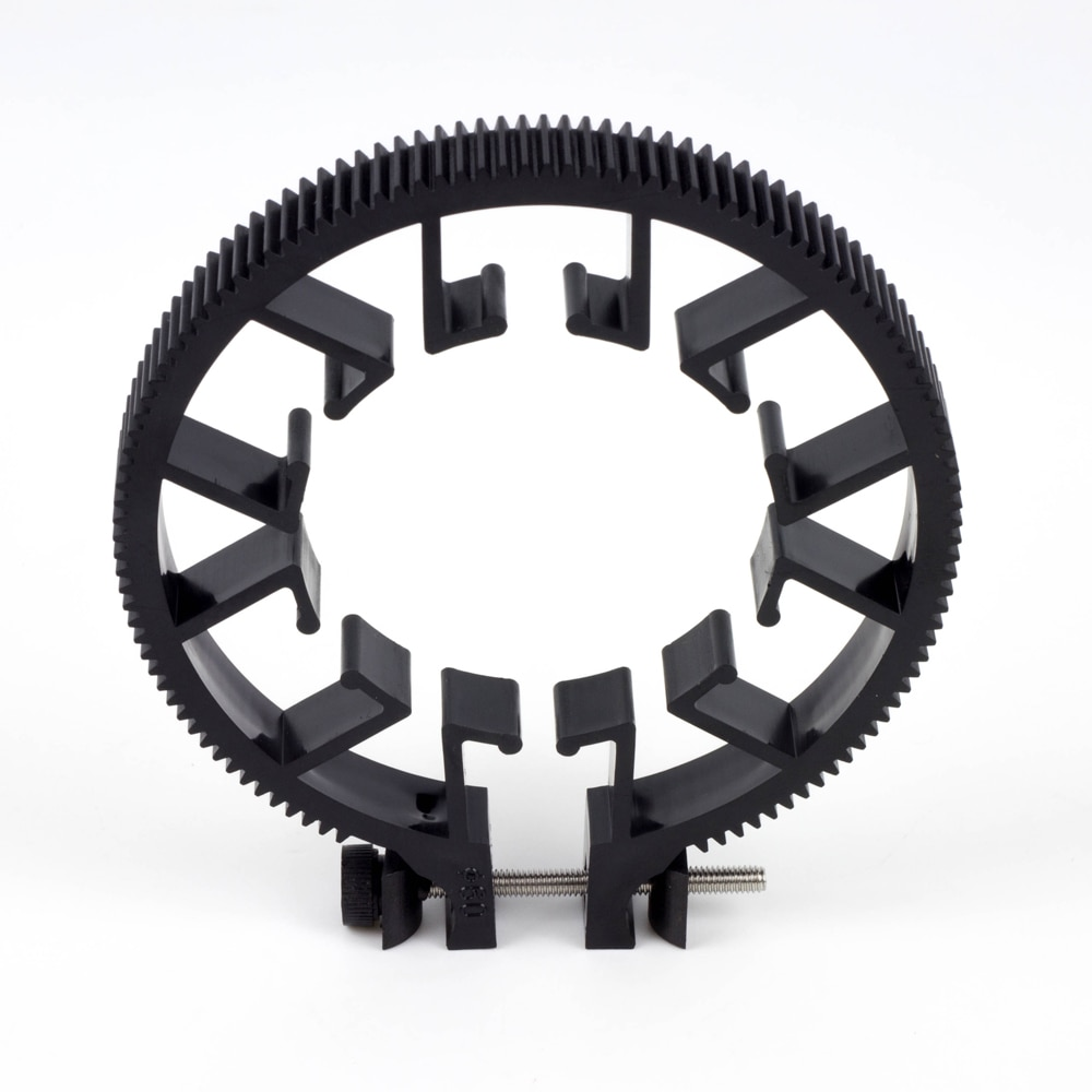 Profesional de la lente de cinturón de anillo diámetro Φ60±5mm Mod 0,8 fr 4K producción Cámara A7R3 GH4 GH5 sigue en enfoque FF Zoom