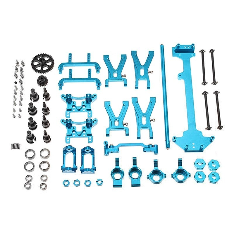 Metal Upgrade Parts Kit for 1/18 Wltoys A959 A979 A959B A979B Rc Car Spare Parts
