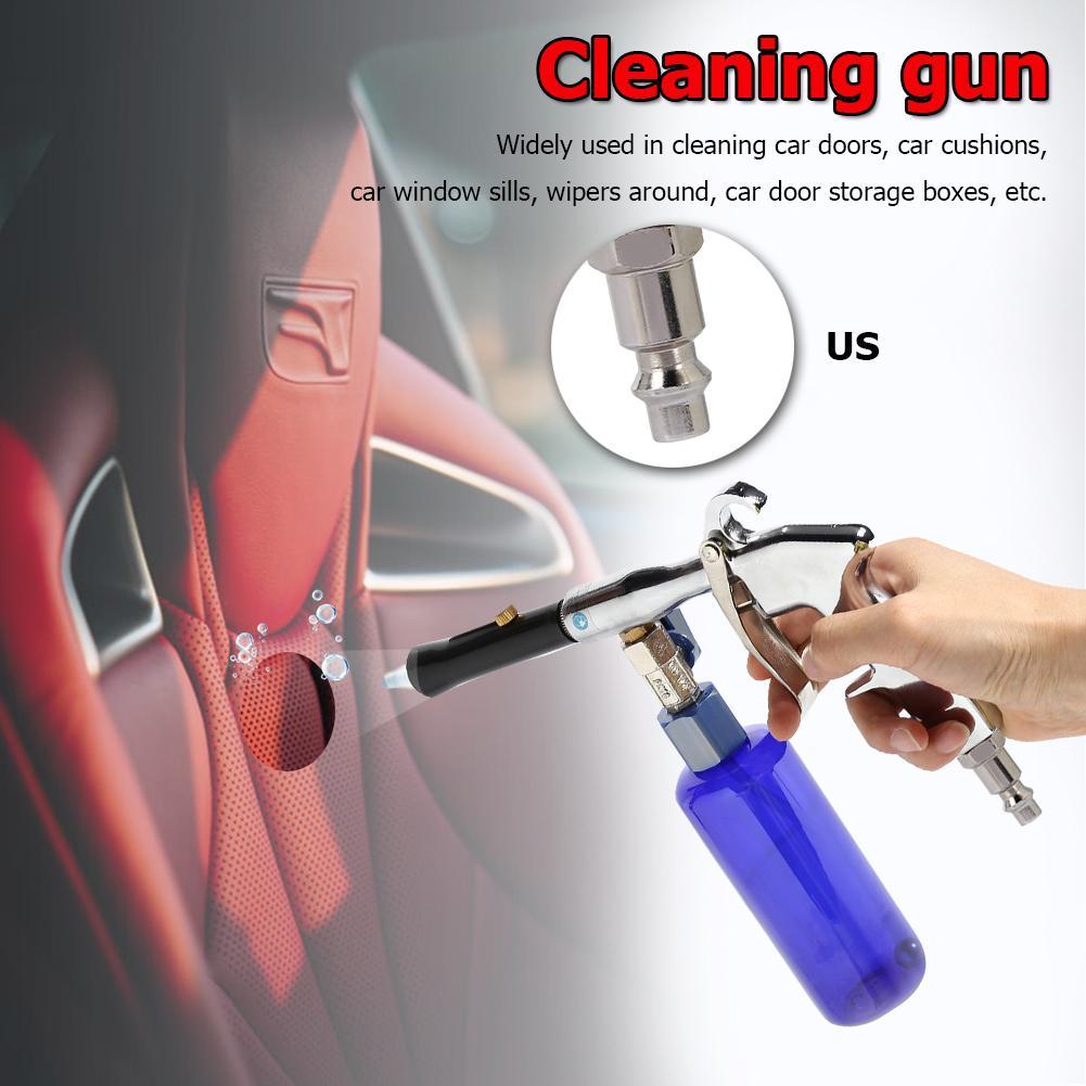 Pistola de limpieza profunda Interior de coche lavadora de alta presión máquina de limpieza de puerta de motor necesita una solución especial neutra aleación de aluminio