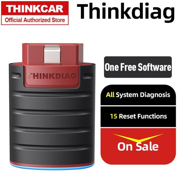 THINKCAR Thinkdiag Bluetooth obd2 переходник сканера автомобиль obdii инструменту диагностики авто scann автомобильной диагностики неисправности код читателя