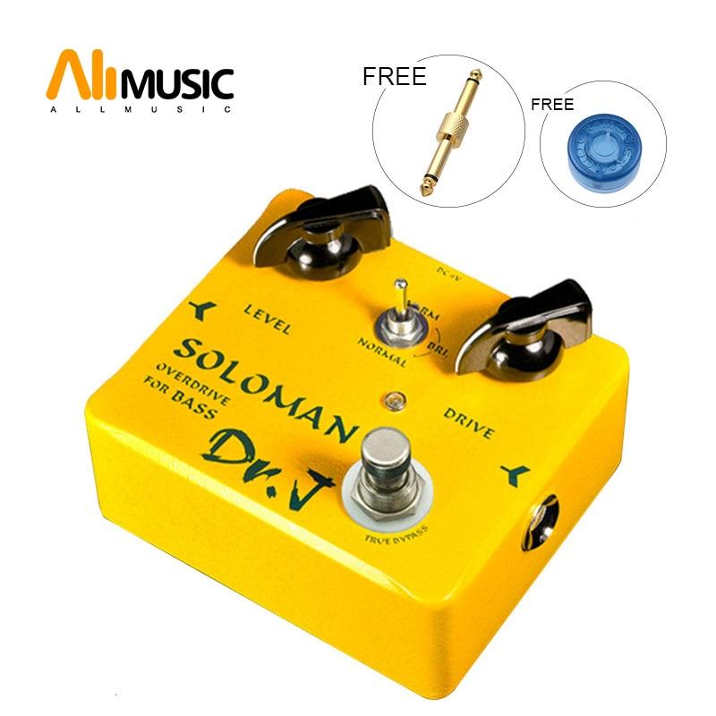 DR. J por JOYO wooman OVERDRIVE para Pedal de bajo Pedal de efecto D52 + conector gratis
