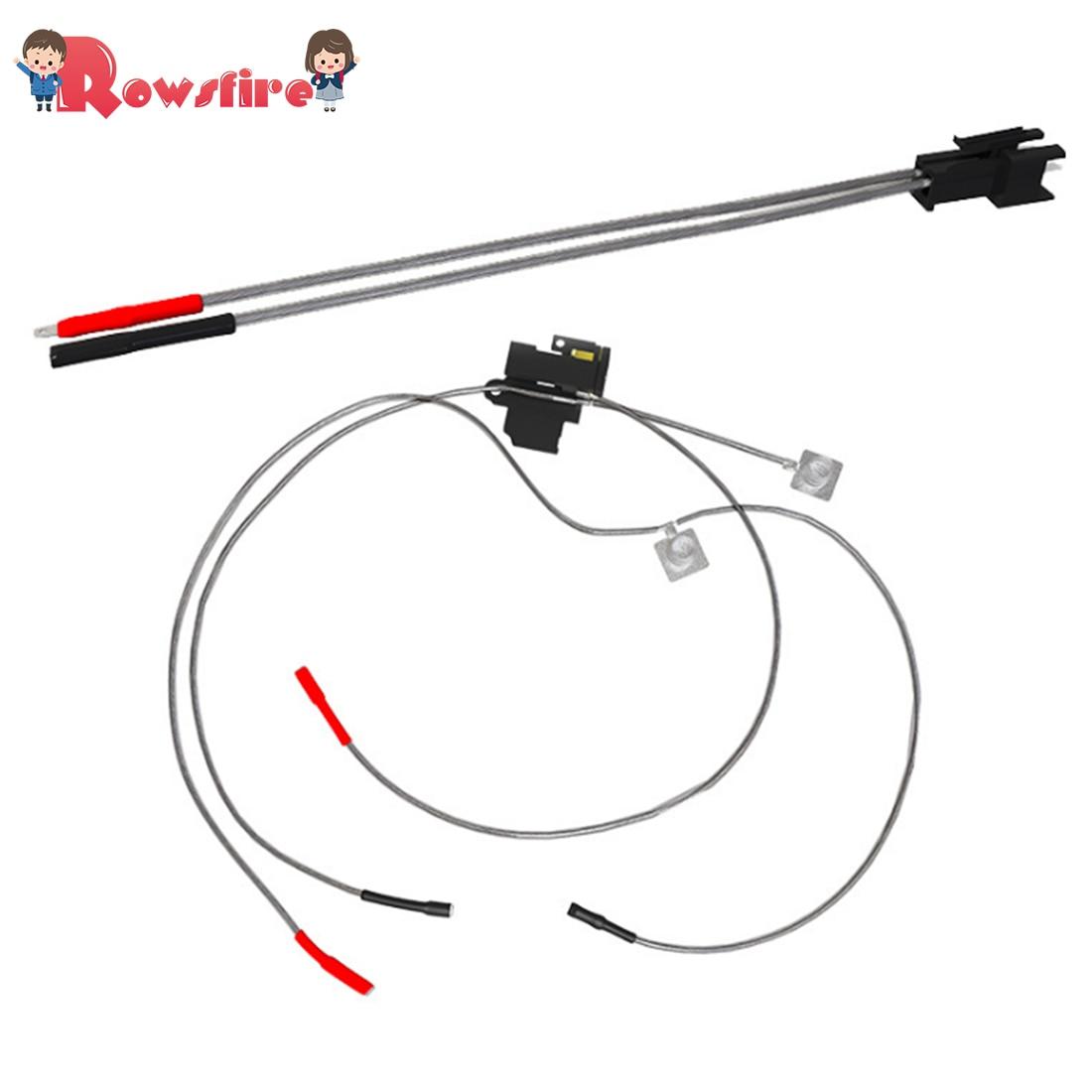 Juego de cables chapados en plata Rowsfire 1 Uds con cabeza SM para JM Gen.10-ACR, chorro de perlas de Gel de agua