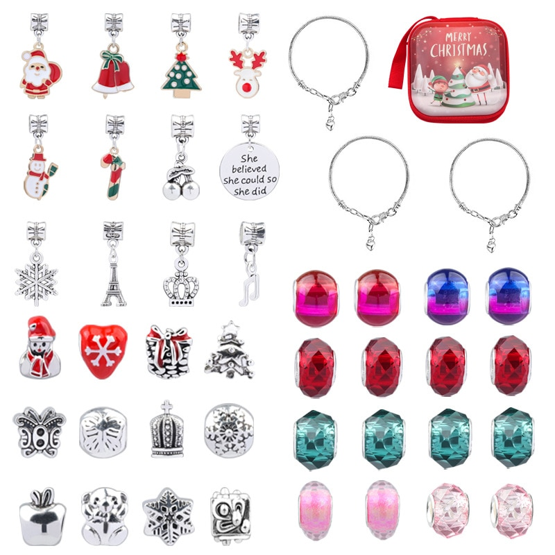 Новинка, сделай сам, игрушки ручной работы из бисера, ожерелье, браслет для девочек, бусины для ювелирных изделий, Набор для изготовления бра...