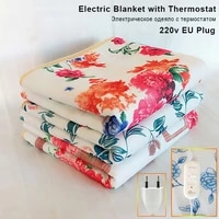 electric heater with thermostat thicker heater double body warmer heated blanket electric heating blanket cashmere 110 220v